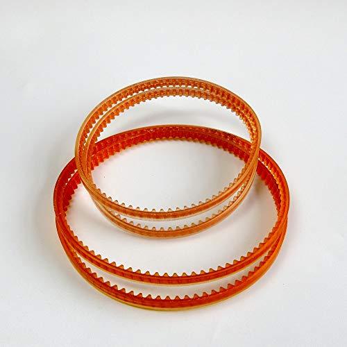 Cinturón de motor superior e inferior para máquinas de coser Kenmore 158 385, 4 unidades