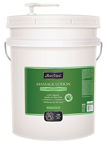 Bon Vital' Organica Massage Lotion Made with Certified Organic Ingredients for an Earth-Friendly & ...