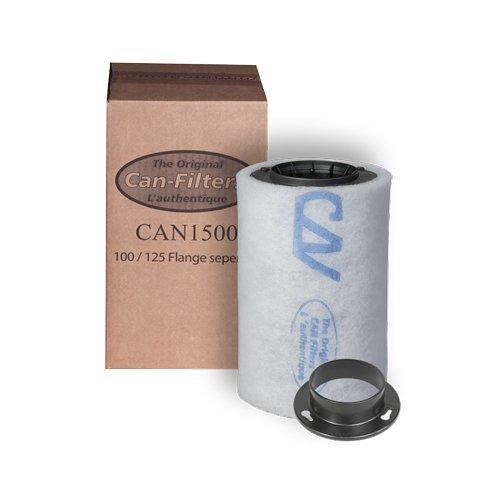 CAN Filters Filtre Anti-Odeur à Charbon 1500 75 m³/h (125mm)