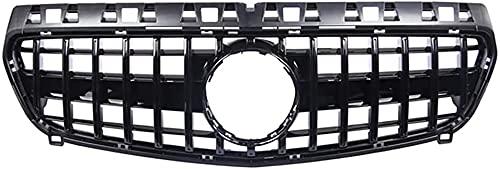Coche Rejillas frontales de radiador para A45amg A class W176 GTR A180 A200 A260 A45 2013-2015, Delantero Parachoques Radiador VentilacióN Accesorios.