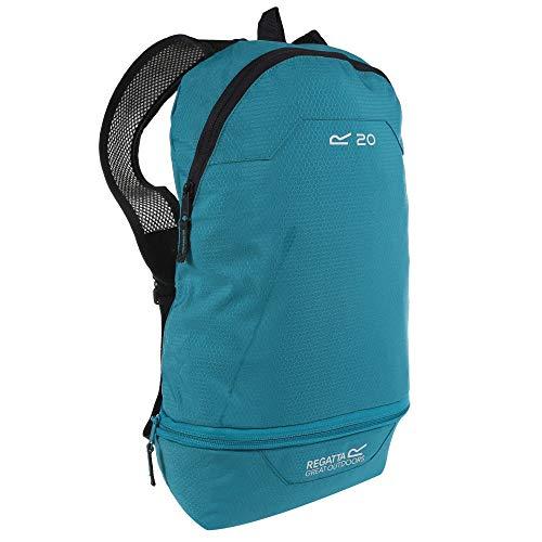 Regatta Packaway Hipack Breathable Compact Travel Backpack - Aqua, Single
