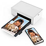 Liene 4x6'' Photo Printer, Wi-Fi Picture Printer, Full-Color Photo, Instant Photo Printer for iPhone, Android, Smartphone, Computer, Thermal dye Sublimation, Portable Photo Printer for Home Use