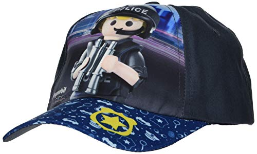 Playmobil City Action - Cap Polizei 54 cm Kindercap Basecap mit Polizei Motiv