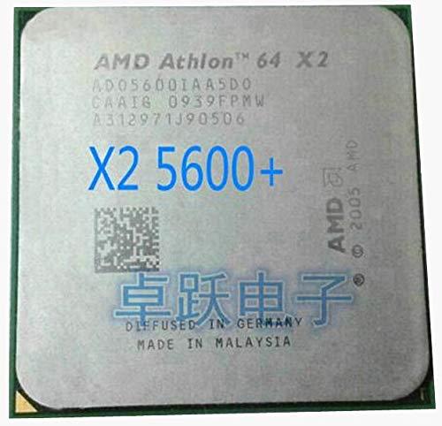 CPU Athlon 64 X2 5600+ 2.9GHz AM2 940pin Dual-Core Processor Desktop CPU Scattered Piece
