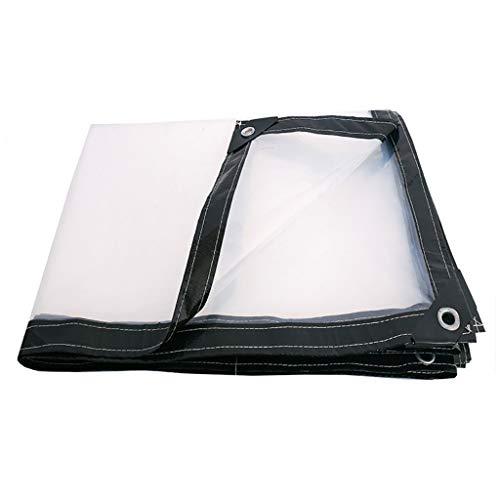 Bâche Transparente Imperméable Imperméable À l'eau De Pluie Épaisse Toile De Plastique De Protection Auvent (Taille : 4x6m)