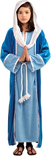 Forum Novelties Biblical Times Deluxe Mary Costume, Child Medium