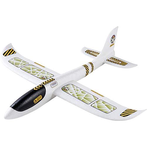 HABA 303520 Terra Kids Wurfgleiter Gleitflugzeug für Kinder, Mehrfarbig