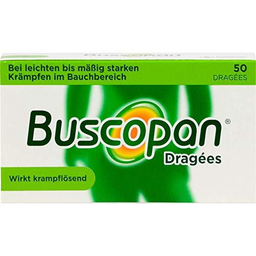 Buscopan 10 mg überzogene Tabletten Reimport Docpharm, 50 St. Tabletten