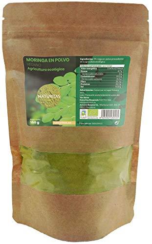Moringa en Polvo Bio 150gr | Vegan | Sin gluten
