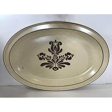 Pfaltzgraff Village Oval 14 inch Serving Platter