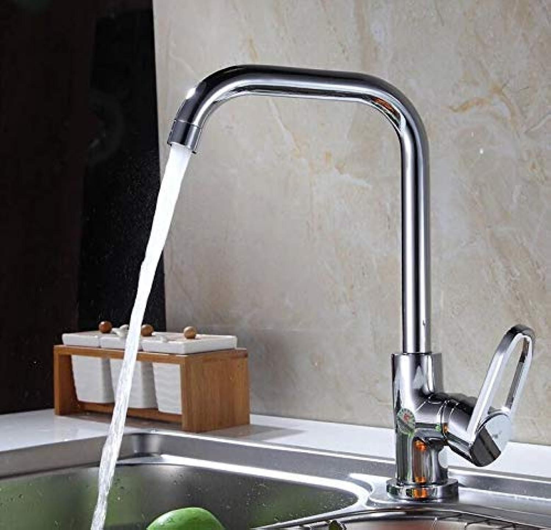 Oudan All Copper Faucet Hot and Cold Vegetables Basin Kitchen Faucet Dual-Temperature Wash Closet Laundry Tub Faucet (color   -, Size   -)