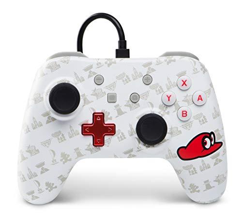 Power A - Mando con hilo, Mario Odyssey (Nintendo Switch)