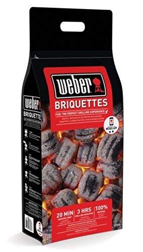 Weber carbone, 2 kg bricchetti