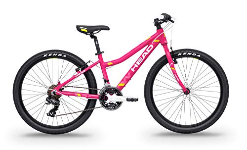 Head Bike Lauren I-24, Bicicletta Ragazza, Rosa Opaco, 34cm