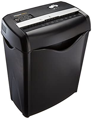 AmazonBasics Cross-Cut Paper and Credit Card Shredder by
