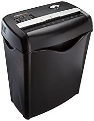 6-Sheet Cross-Cut Paper and Credit Card Shredder
