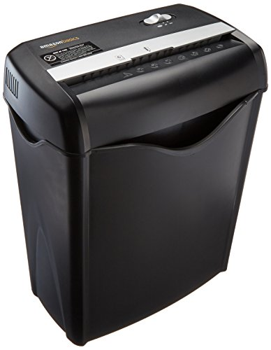 Buy AmazonBasics 6-Sheet Cross-Cut Paper and Credit Card Home Office Shredder