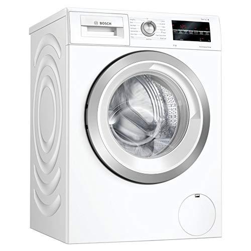 Bosch WAU28T64GB Serie 6 Freestanding Washing Machine with AllergyPlus, Drum Clean and SpeedPerfect, 9kg load, 1400rpm spin, White