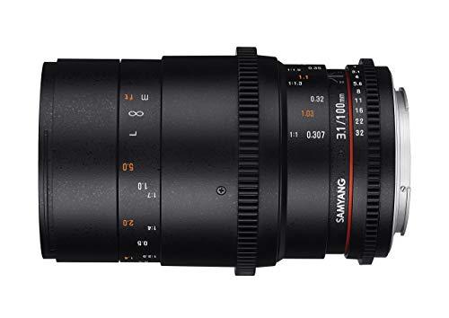 Samyang lens voor Sony E 100 mm Macro T3.1 VDSLR zwart