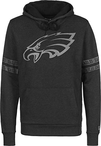 New Era Philadelphia Eagles Hoody NFL Black Tonal Black - 4XL