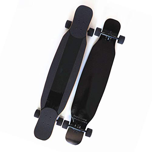 New Scooters Long Board Flat Flower Dancing Dance Board Beginner 24cm Black Adult Brush Street Trave...