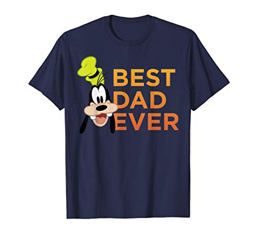 Disney Mickey And Friends Father's Day Goofy Best Dad Ever Camiseta
