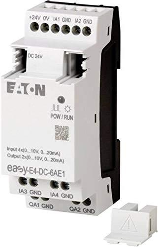 Eaton EASY-E4-DC-6AE1 Motorschutzrelais, 1,0-1,6 A, 1 Schließer + 1 Öffner, Clear, x