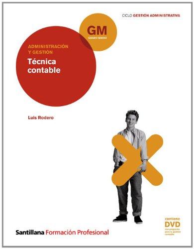 Administración y Gestión Técnica Contable Gm Ciclo Gestión Administrativa Santillana Fp