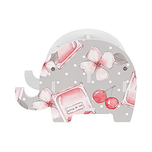Botella de perfume botella de agua belleza elefante lápiz titular con soporte de teléfono multifunción extraíble pluma taza organizador de escritorio para oficina escritorio decoración del hogar