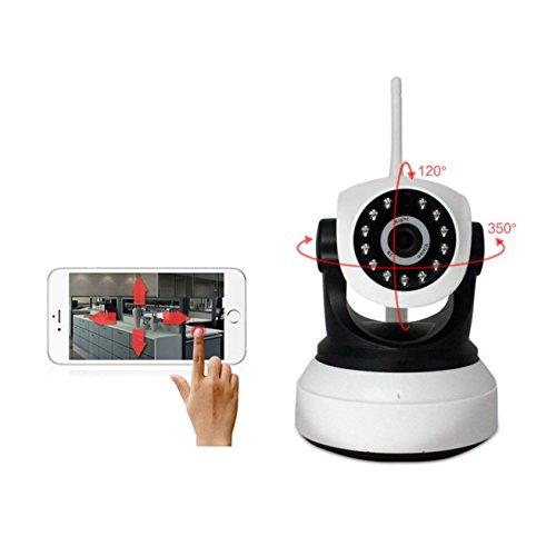 Dome Kamera WLAN/WiFi Kamera / ¨¹berwachungskamera Bewegung/Sicherheitskamera WLAN/Mini Drahtlose IP ¨¹berwachungs-Kamera BT-SJ36, Echtzeit-Video, Bildaufnahme/Unterst¨¹tzt TF Memory d