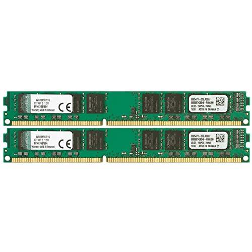 Kingston KVR13N9K2/16 Arbeitsspeicher 16GB (DDR3 Non-ECC CL9 DIMM Kit, 240-pin, 1,5V)