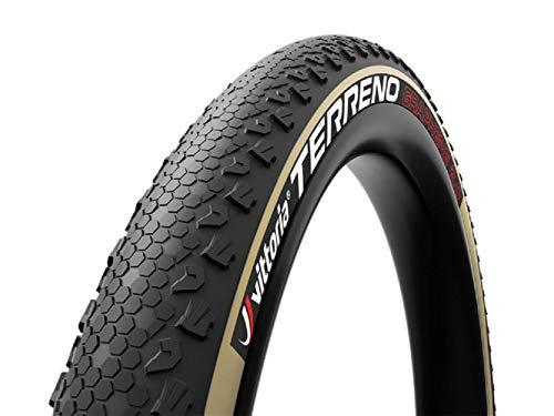 VITTORIA Terreno - Neumático para Bicicleta Unisex Adulto, Negro, 29 x 2,1 cm