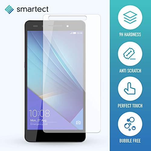 smartect Panzerglas kompatibel mit Huawei Honor 7 / Honor 7 Premium [2 Stück] - Displayschutz mit 9H Härte - Blasenfreie Schutzfolie - Anti Fingerprint Panzerglasfolie - 2