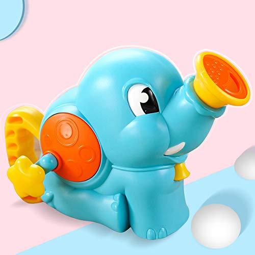 Rain City 2019 Elephant Douche Pompe à Main Vaporiser d'eau Baignoire Bain Jouets adaptée pour Les bébés de Plus de 3 Ans,Bleu
