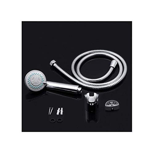 GUONING-L Ducha, Cámara en mano multifunción cabezal de ducha fijado for el baño, Cuarto de baño simple de pared cabezal de ducha (Color: Plata) Baño