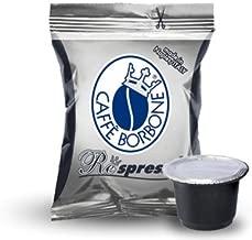 400 CAPSULE BORBONE RESPRESSO NESPRESSO MISCELA NERA CAFFE PLASTICA