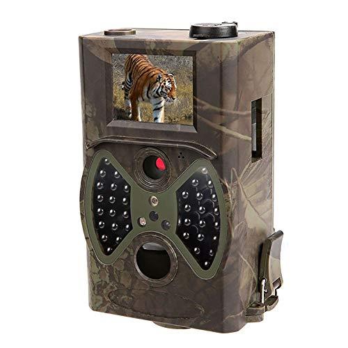 WYYHAA Wildkamera mit Bewegungsmelder Nachtsicht / 12MP 1080P Trail-Kamera mit 65ft Erfassungsbereich 36Pcs 850nm IR LED IP54 Spray Wasserdicht für wild lebende Tiere Überwachung Garden Home