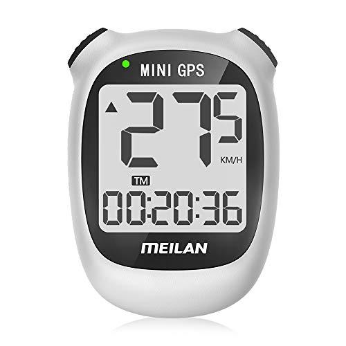 MeILAN M3 Mini GPS - Ordenador de bicicleta inalámbrico con cuentakilómetros y...