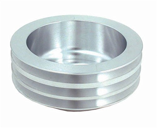 Spectre Performance 4449 Aluminum Triple Belt Crankshaft Pulley for Small Block Chevy with Long Water Pump