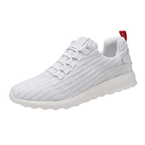YueLove Herren Sneaker Stra enlaufschuhe Sportschuhe Turnschuhe Outdoor Leichtgewichts Laufschuhe Freizeit Atmungsaktive Fitness Schuhe