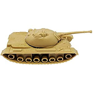 Toy Essentials 24 Piece Green Desert Gray Army Battle Tanks Play Set