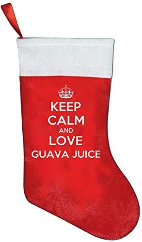 houden kalm en liefde guava sap kerst sokken schattig dikker item sokken