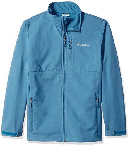 Columbia Men's Big and Tall Ascender Softshell Jacket, Blue Heron, 1X