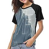 Mrscsefid Nf Rapper Baseball Tee for Women Crewneck Baseball Jersey Soft and Comfortable Sleeve Baseball Mom Shirt Black