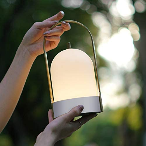 Tubicen LED Cordless Table Lamp 4000mAh Rechargeable Battery Operated Lamps 4 Level Touch Dimmable product image
