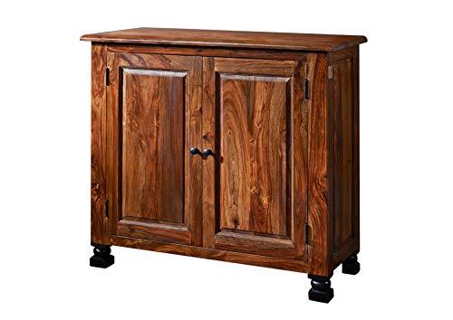 MASSIVMOEBEL24.DE Kolonialstil Palisander massiv Holz Möbel Sideboard Sheesham vollmassiv lackiert Massivmöbel New Boston #209