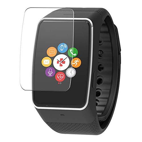 Vaxson 3 Stück Schutzfolie, kompatibel mit MyKronoz ZeWatch 4HR 4 HR Smartwatch Hybrid Watch, Bildschirmschutzfolie TPU Folie Displayschutz [nicht Panzerglas Hülle Hülle ]