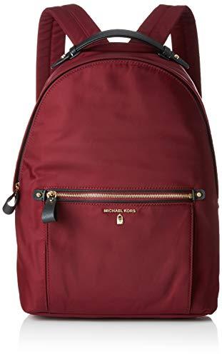 Michael Kors - Kelsey Nylon Backpack, Mochilas Mujer, Morado (Plum), 10.8x37.5x29.8 cm (B x H T)