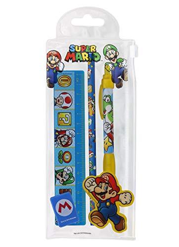 Super Mario Schreibwaren, 5-teilig