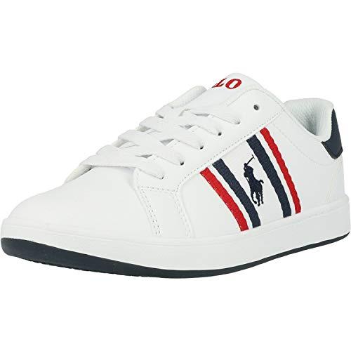 Polo Ralph Lauren Sneaker Low Oaklynn Weiss Jungen - 36 EU